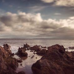 Rock seams, shoreline, Rosemarkie, Scotland #landscape #photography