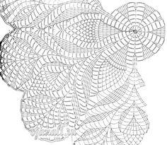 - Dalia Ivanova - Álbuns da web do Picasa Easter Crochet Patterns, Crochet Stitches Patterns, Thread Crochet, Crochet Doily Diagram, Crochet Chart, Filet Crochet, Crochet Table Topper, Crochet Tablecloth, Crochet Round