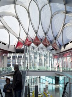 Mediacite in Liege, Belgium by Ron Arad Architects