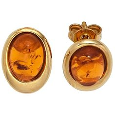 Bernstein, Gold Rings, Cufflinks, 375 Gold, Accessories, Jewelry, Cabochons, Clothing Ideas, Material