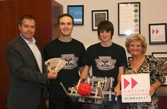 Raven Robotics Awarded Awesome Foundation Grant #Newmarket