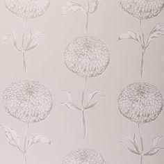 Dahlia Natural – Clarke & Clarke