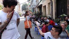 EXPAT saigon VIETNAM street.  Nguyen Thi Minh Khai 2014