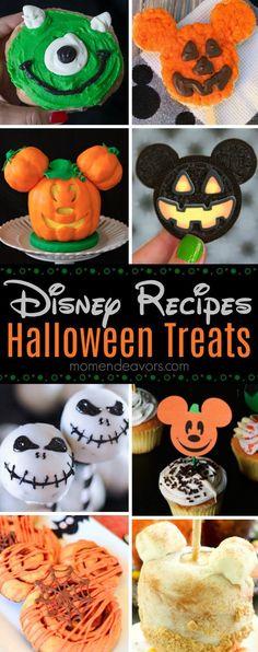 15+ Best Disney-Inspired Halloween Treat Recipes - cute Disney Parks copycat and Disney-inspired Halloween recipes