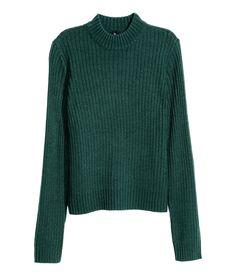 Ribbineulepusero | Smaragdinvihreä | Naiset | H&M FI