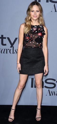 Can you guess which 80's pop icon Halston Sage is ...