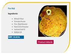 Pav Bhaji Khakhra Hyderabad | Pav Bhaji Khakhra recipe | Buy Online