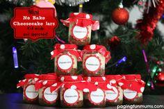 Mini Christmas Cheesecakes..