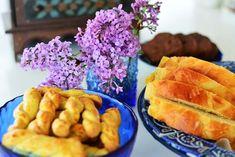 Food photography, lilacs, easter, tsoureki
