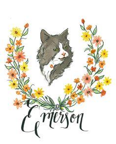 Emerson by Lauren Moyer, via Behance