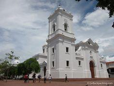 Church in Santa Marta, Colombia