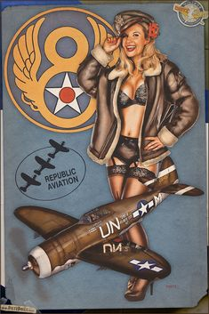 Today's pinup photo is another in the Aviation Pinup series featuring Melissa & the P-47G Thunderbolt. First flying in 1941, the P-47 was introduced into Army Air Force service in 1942. Serving mostly in the European Theater, the P-47 is one of the biggest single engine fighter aircraft ever built! Order a print on the Online store! http://www.dietzdolls.com/catalog/product_info.php?products_id=40 © Dietz Dolls: http://www.dietzdolls.com || Facebook: https://www.facebook.com/MomentsCapture