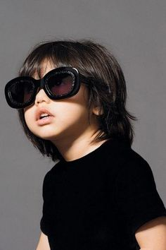 67a3ffc03b8 Awwww! The Kids In This Karen Walker Campaign Are Too Cute Cute Sunglasses