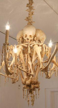 Impressive Halloween Decor Chandelier