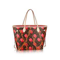 Neverfull MM +Monogram Canvas - Handbags   LOUIS VUITTON