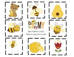 12 Awesome printable beehive pattern images