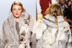 Michael Kors Fall 2012 loose knot