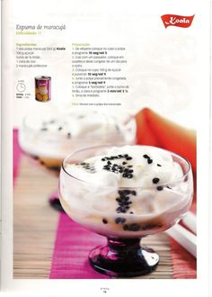 Revista bimby 14 Sweet Desserts, Sweet Recipes, Dessert Recipes, Thermomix Desserts, Kitchen Time, What To Cook, I Foods, Gluten Free Recipes, Free Food