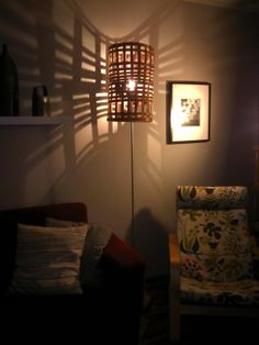 Wooden lampshade. Info: http://handmade-decorating.wix.com/hand.