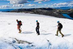 Folgefonna glacier, Hardangerfjord, Norway. www.folgefonni-breforarlag.no