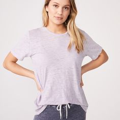 Burn Out Oversized Crew Crew Neck, V Neck, S Models, Burns, Clothes For Women, Tees, Fabric, Cotton, Collection