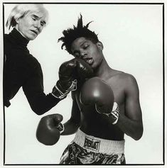 Andy Warhol e Jean-Michel Basquiat