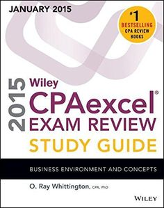 Wiley CPAexcel Exam Review 2015 Study Guide (January): Business Environment and Concepts (Wiley Cpa Exam Review Business Environment & Conce