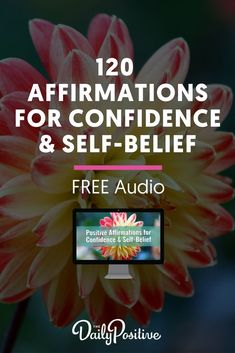 120 Positive affirmations for confidence free audio mp3 download. Get your copy and take the 30 day challenge to develop greater self confidence.