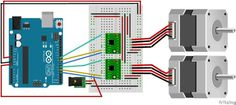 Drive a Stepper Motor with an Arduino and a A4988 Stepstick/Pololu driver