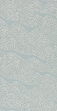 FSC certified Printed in the UK Size: 52 cm × 10 metres / 11 yd × 20 in Finish: Matt Blue wallpaper