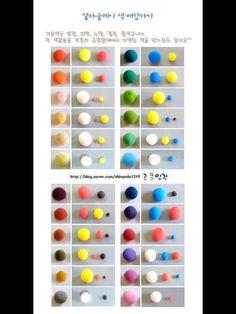 Comment obtenir des couleurs secondaires