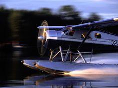 DeHavilland Beaver float Plane.  Pratt & Whitney Radial 9 cylinder engine.
