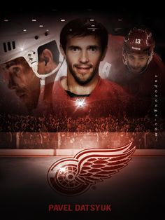 Army Hockey, Hockey Teams, Winged Girl, Detroit Sports, Nhl Players, Red Army, Detroit Red Wings, 3, Icons
