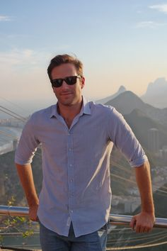 Our jetsetting spy, Armie Hammer, takes in the Brazil beauty. Thanks for a great time, Rio! @themanfromuncle is now playing in theaters everywhere.
