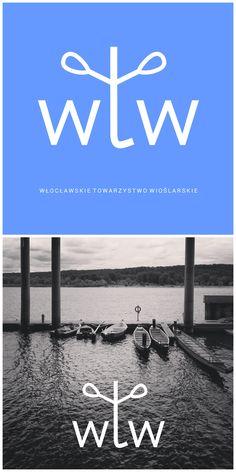 Małe natchnienie i nasza propozycja na logo Włocławskiego Towarzystwa Wioślarskiego • Rowing Society in Wloclawek