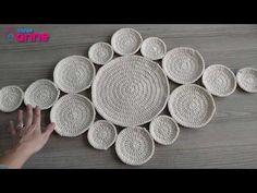 Runner yapımı - Koton ip ile - Canım Anne Crochet Table Runner, Crochet Tablecloth, Crochet Doilies, Crochet Round, Filet Crochet, Crochet Stitches, Doily Patterns, Weaving Patterns, Crochet Patterns