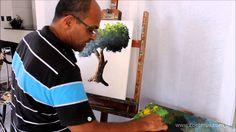 [Video] Aula de Pintura com o Prof. Costerus - Como pintar uma Árvore de...
