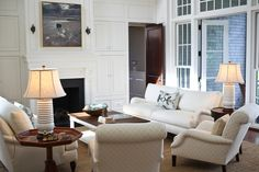 Comfortable Luxury - eclectic - living room - charleston - by Margaret Donaldson Interiors