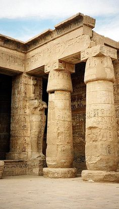 29280008 - Egypt ancient architecture - Structures can be a High Ancient Egypt History, Ancient Ruins, Ancient Artifacts, Amenhotep Iii, Ancient Egypt Architecture, Kairo, Old Egypt, Egyptian Art, Egyptian Temple