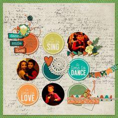 Dance Smile Love - Scrapbook.com