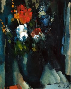 Bunch of Flowers, 1909, by Maurice de Vlaminck (French, 1876-1958),