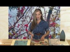 ToolGirl Mag Ruffman - Transferring Photo Images to Wood the EASY Way! - YouTube