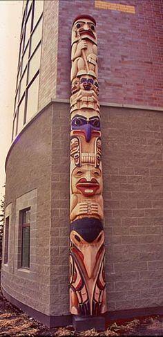 David Boxley - Tsimshian Totem Pole Gallery