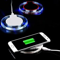 2016 100% Original Qi Wireless Charger Charging Pad for Samsung Galaxy S6 / S6 Edge S7 / S7 Edge Note 5 Plus Nokia LG G5 G4 G3