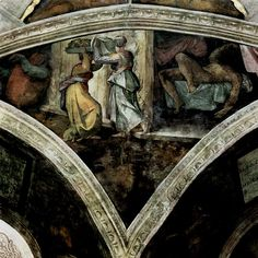 Michelangelo Buonarroti 038 - Gallery of Sistine Chapel ceiling - Wikipedia, the free encyclopedia