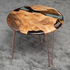 The Osso 80 Side Table . – The Osso 80 side table. Epoxy Wood Table, Epoxy Resin Table, Wooden Tables, Diy Epoxy, Wood Table Design, Design Tisch, Resin Furniture, Woodworking Furniture Plans, Into The Woods