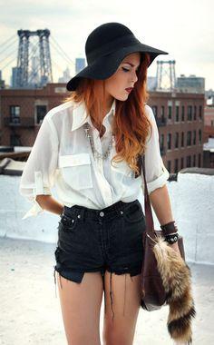 Shirts and shorts like this!