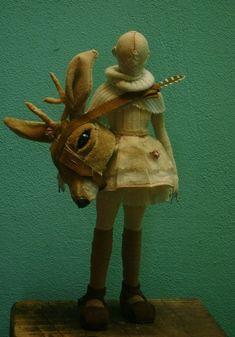 Lunar Doll- Sculpture-