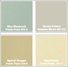 1000 images about paint ideas on pinterest benjamin - Cottage house colors interior ...
