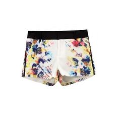 Fashionable Color Print Shorts [FJCE0051]- US$ 25.99 - PersunMall.com